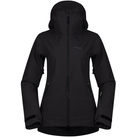 Bergans Stranda Insulated Hybrid Jacket Women, black/solid charcoal